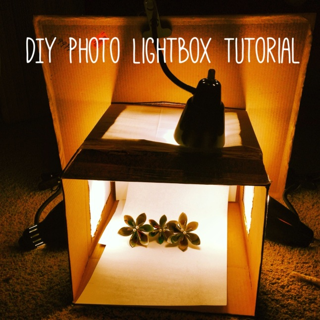 DIY photo light box from BE paperie