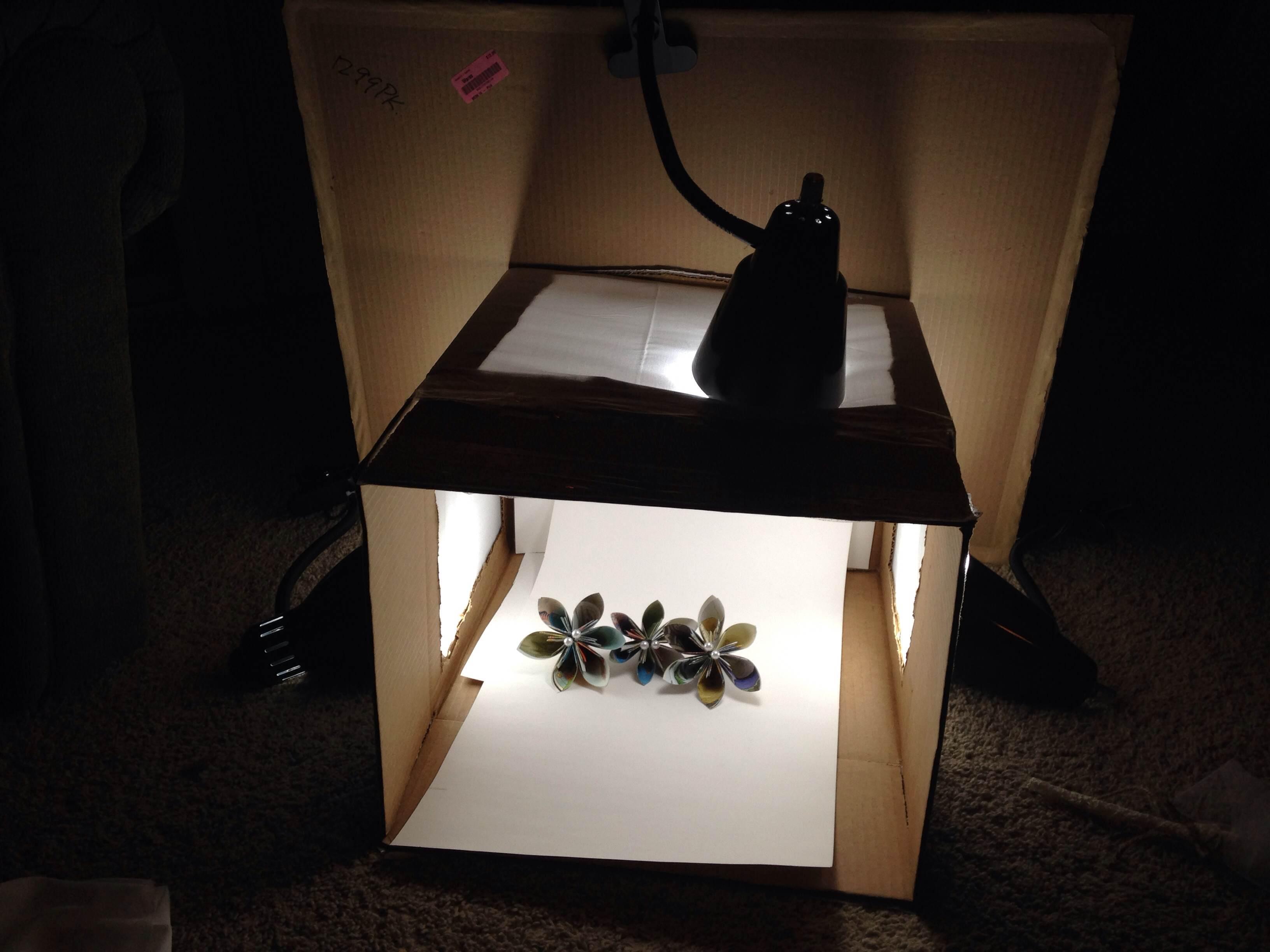 BE Paperie DIY Photo Light Box Tutorial