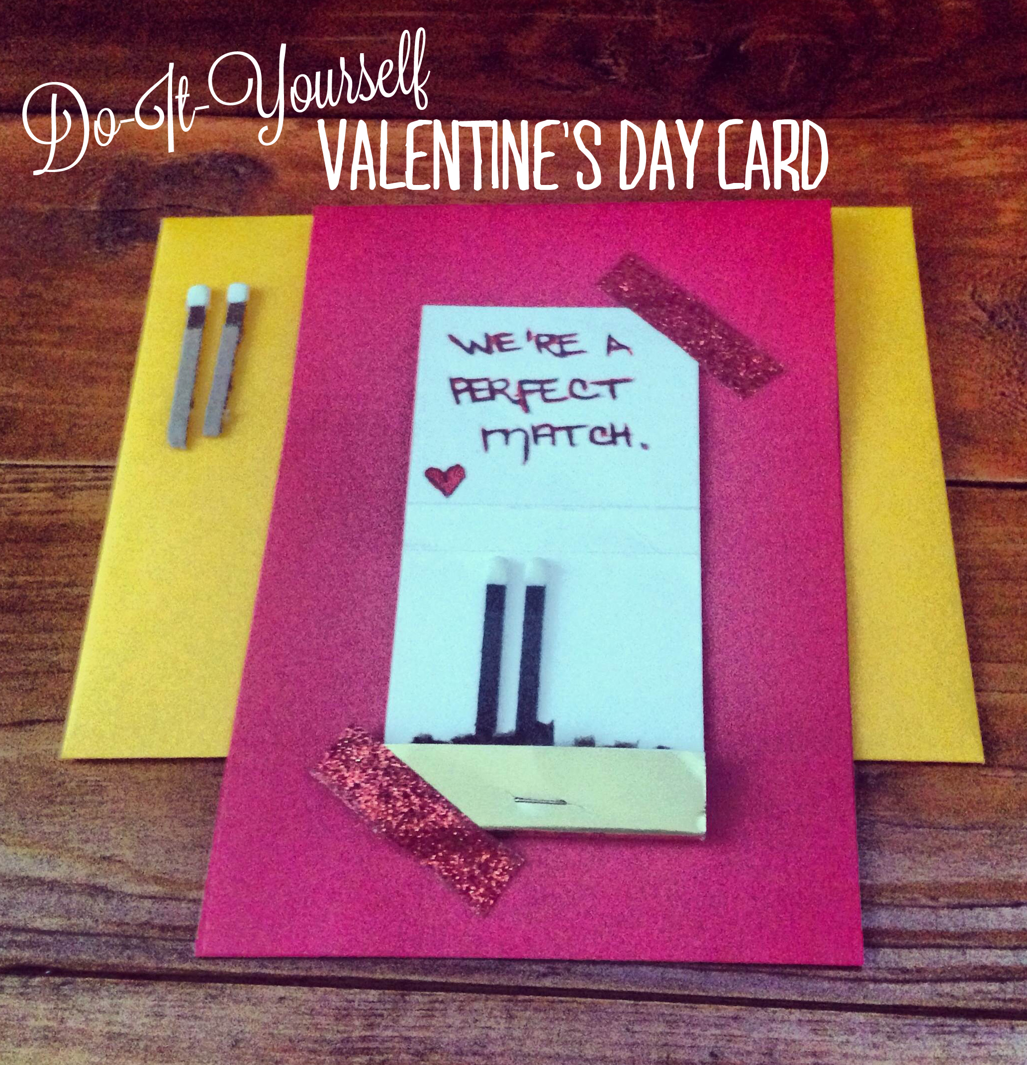 Diy valentines day card bepaperie image solutioingenieria Image collections